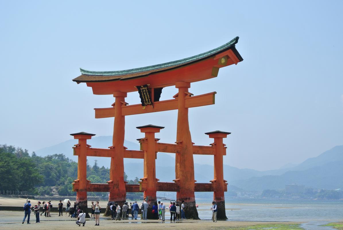 Miyajima Island, bij Hiroshima