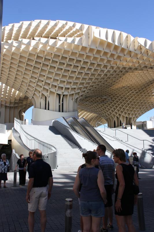 Plaza de Encarnacion | de chapignons van Sevilla