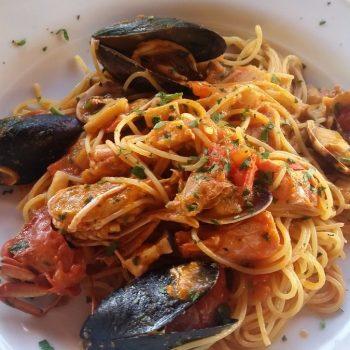 De beroemde pasta cozze vongole