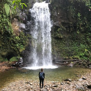 Lost Waterfall Hike, Boquete