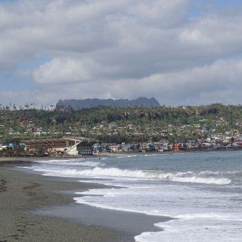 Baracoa vanaf het strand