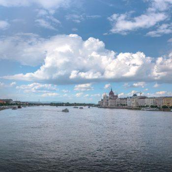 Uitzicht Boedapest