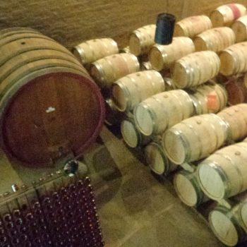 Tonnen om wijn in te beware