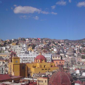 uitzicht over Guanajuato