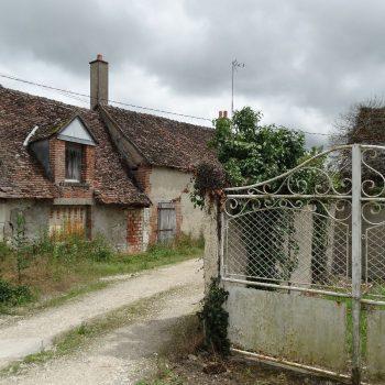 oud huisje in Onzain