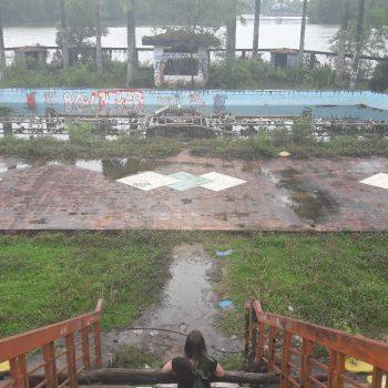 Verlaten waterpark