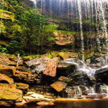 waterval bij kampot