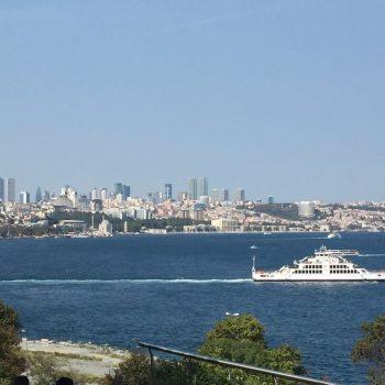 Istanbul vanuit Gulhane park