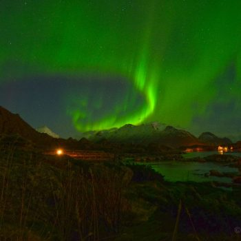 Noorderlicht in Lofoten