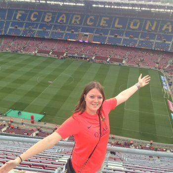 Wedstrijd Barcelona - Club Léon