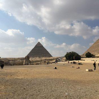 Natuurlijk de piramides