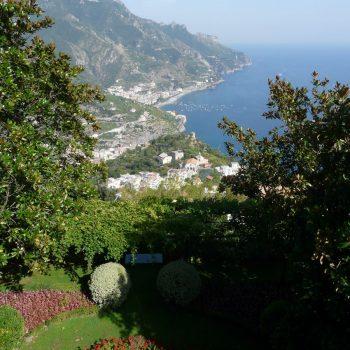 Uitzicht vanaf Ravello