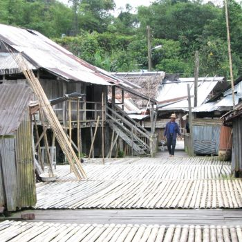 de longhouse van Annah Rais
