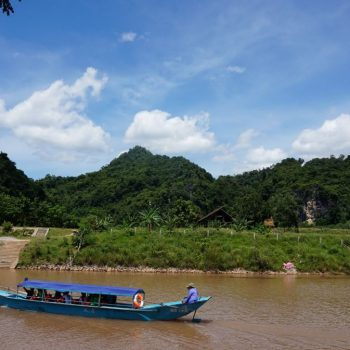Onderweg naar de Phong Nha Cave
