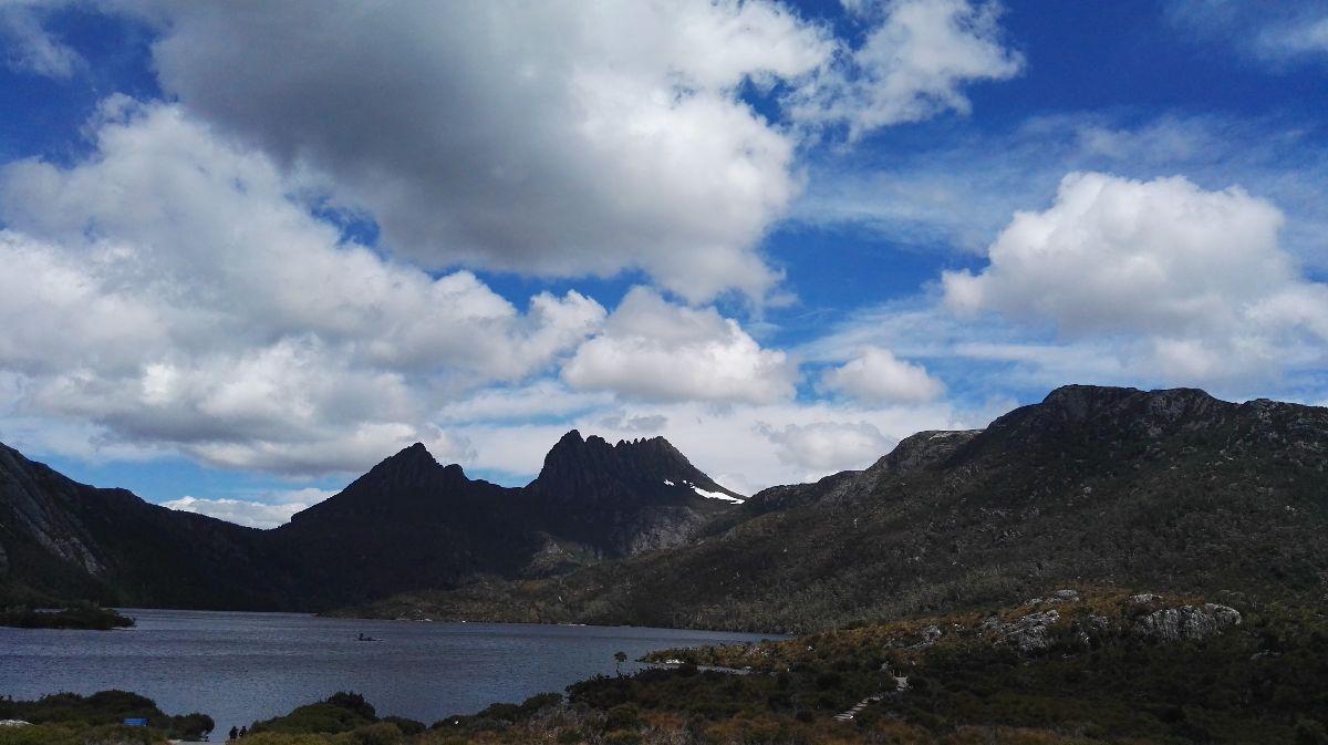Cradle mountain, de hoogste berg van Tasmanie