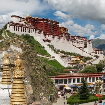Potala Paleis in Lhasa