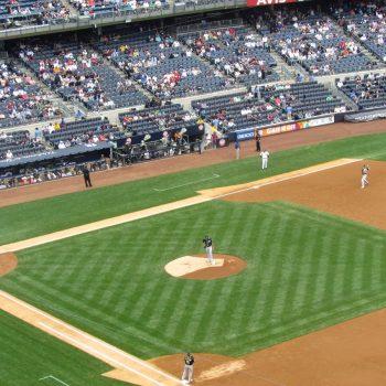 New York Yankees baseball wedstrijd