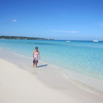 nine mile beach in Negril