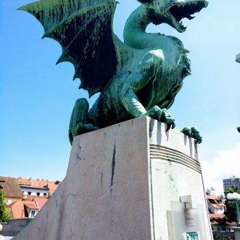 De draak, het symbool van Ljubljana