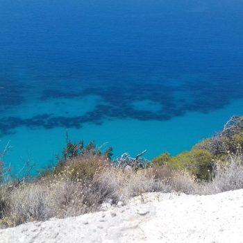 Turqouise zee aan oostkust