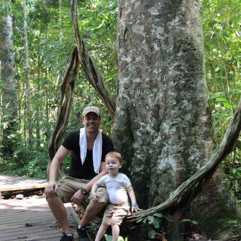 Op pad door de jungle van Taman Negara