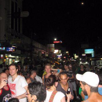 Feest op straat - Khao San Road