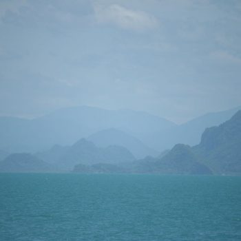 Op de boot richting Koh Samui