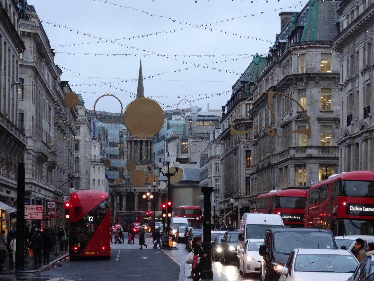 Londen in de kerstsferen