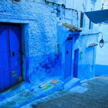 De blauwe medina van Chefchaouen