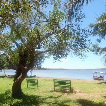 Een meer in Sanber (dicht bij de hoofdstad Asuncion)