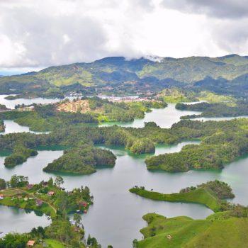 Uitzicht vanaf Peñol