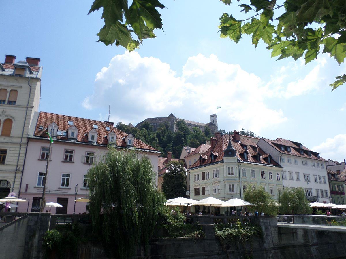 Hoofstad Ljubljana en Ljubljana Grad.