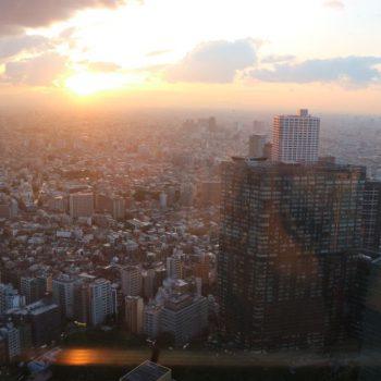 Uitzicht vanaf hoog gebouw