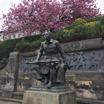 monument WOI in het park