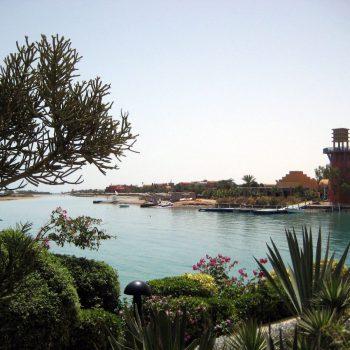 Mooie resorts aan de lagunes