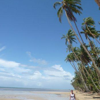 Een van de vele stranden