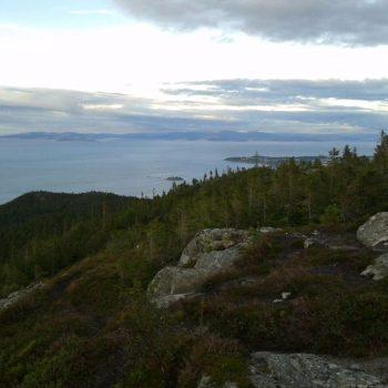 Uitzicht bij Bymarka