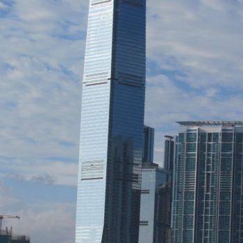 Sky deck 100 is boven op deze toren