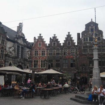 Pleintje in Gent