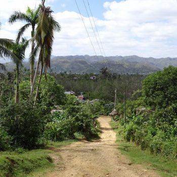 Tijdens een wandeling in het dal