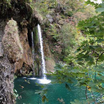 Watervallen in overvloed