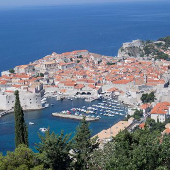 Dubrovnik van een afstand
