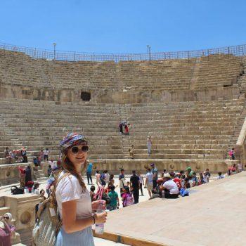 Amfitheater, Jerash