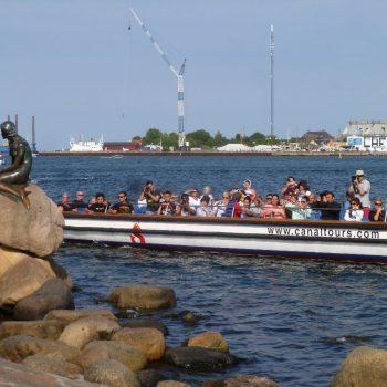De zeemeermin, Kopenhagen