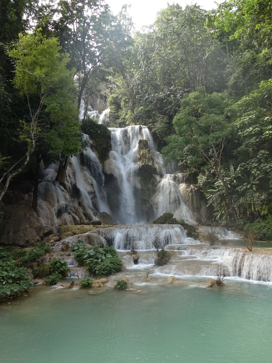 Kuang si waterval