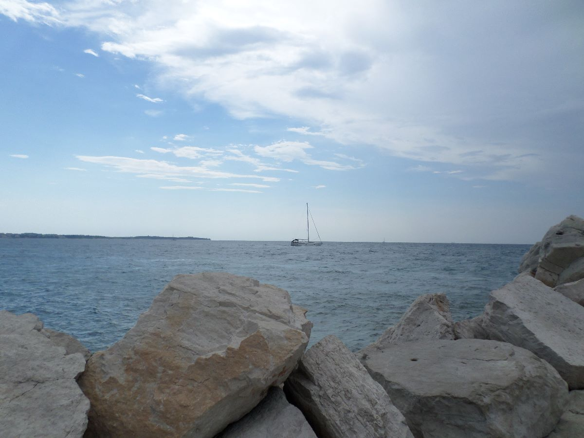 De kust van Slovenië in Piran