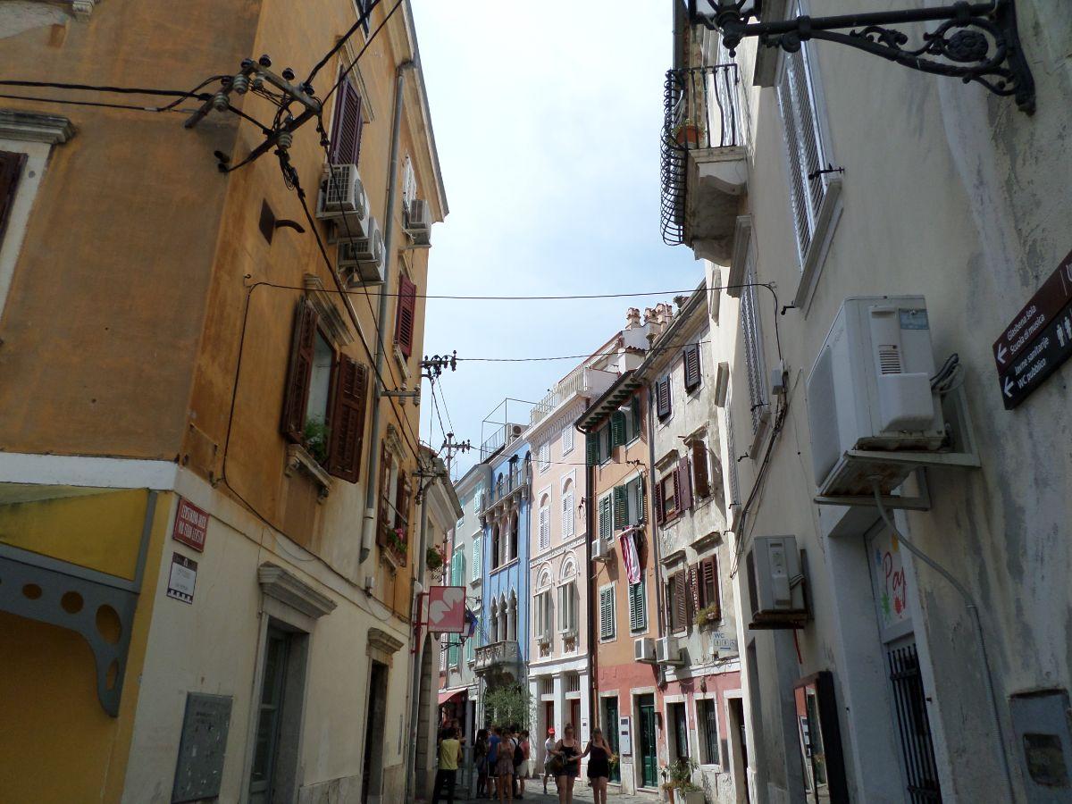 Leuke straatjes in Piran