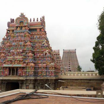 Srinangam tempelcomplex