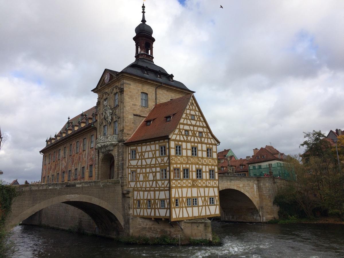 Bamberg, een heel mooi dorp (stadje)