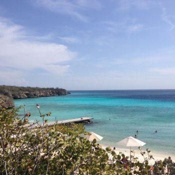 Het strand van Playa Porto Marie - Curaçao